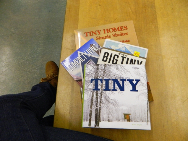 Perusing out some tiny house literature...