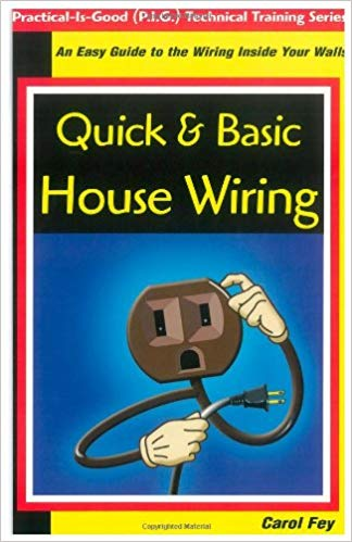 "Cover of a book called ""Quick and Basic Wiring"" b"
